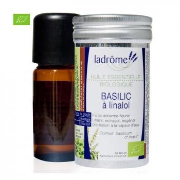 LADRÔME - Huile essentielle bio de Basilic 10ml