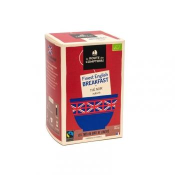 Thé noir bio Breakfast - infusettes