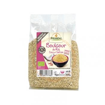 Boulgour de Riz Bio, Vegan - Coco et safran - 300g