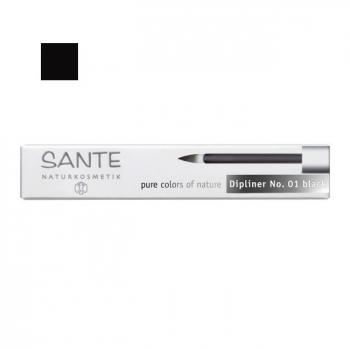 SANTE NATURKOSMETIK - Eyeliner Liquide Bio Noir n°01 3ml