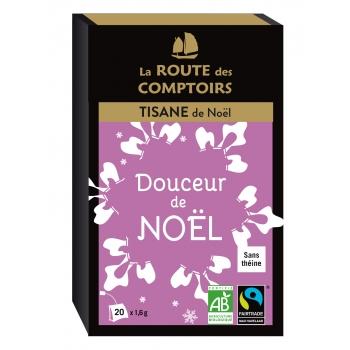 Tisane bio Douceur de Noël infusettes