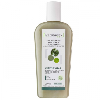 DERMACLAY - Shampoing Bio Capilargil Cheveux Gras 250ml