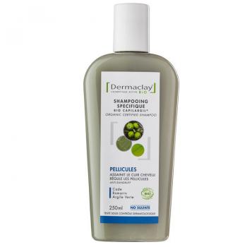 Shampooing pellicules 250ml dermaclay bio
