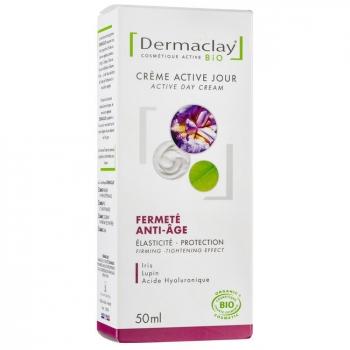 DERMACLAY - Crème de jour bio Fermeté Anti-âge 50ml