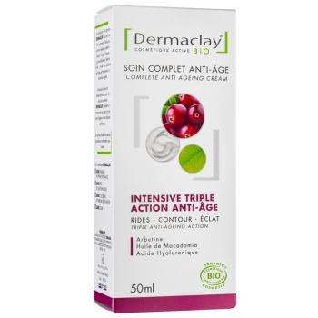 DERMACLAY - Crème de jour Bio Intensive Anti âge 50ml