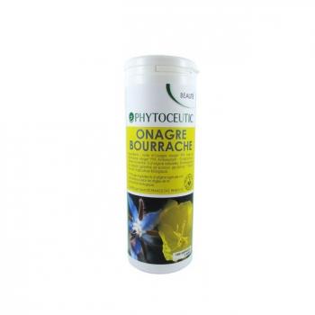PHYTOCEUTIC  - Onagre et Bourrache bio pour la Beauté de la peau 180 capsules
