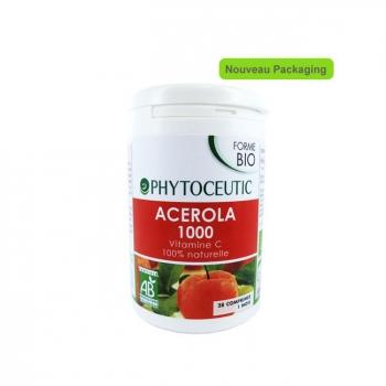 PHYTOCEUTIC  - Acérola 1000mg Bio - 28 comprimés