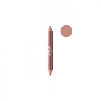SANTE NATURKOSMETIK - Crayon Duo Contour des lèvres Nude Look n°01