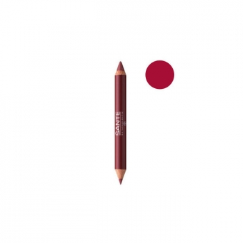 SANTE NATURKOSMETIK - Crayon Duo Contour des lèvres Glamorous Look n°03