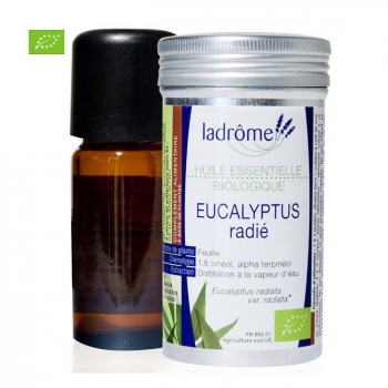 LADRÔME - Huile essentielle bio Eucalyptus Radiata 10ml