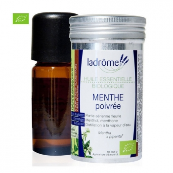 LADRÔME - Huile essentielle bio Menthe Poivrée 10ml