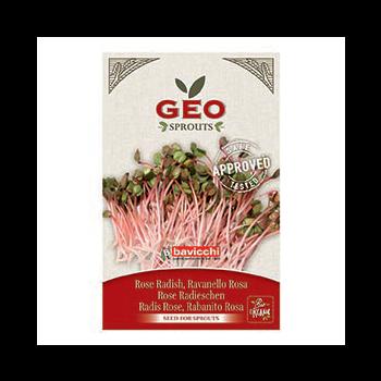 Radis Rose - Graines à germer bio - 20g - Geo