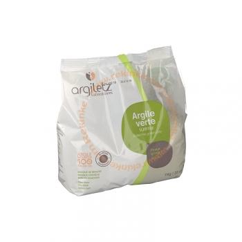Argile Verte Surfine - Peaux grasses - 1kg