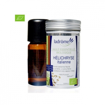 LADRÔME - Huile essentielle Immortelle bio ou Hélichryse italienne 5ml