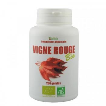 Vigne Rouge Bio - 200 gélules végétales de 250 mg