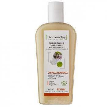 DERMACLAY - Shampoing Bio Capilargil Usage Fréquent - Cheveux normaux 250ml