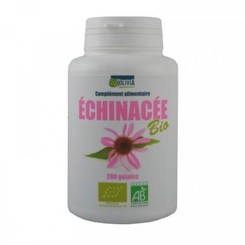 Echinacea Bio - 200 gélules végétales de 210 mg