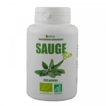Sauge Bio - 200 gélules végétales de 220 mg