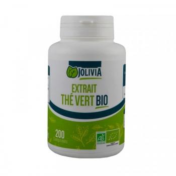 Extrait Thé vert Bio - 200 comprimés de 400 mg