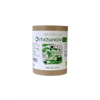 Orthosiphon Bio Eco Responsable - Perte de poids - 200 gélules de 230mg