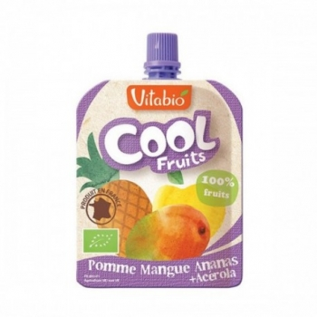 Cool Fruits Pomme Mangue Ananas 90g-Vitabio