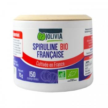 Spiruline Bio Française - 150 comprimés de 500 mg