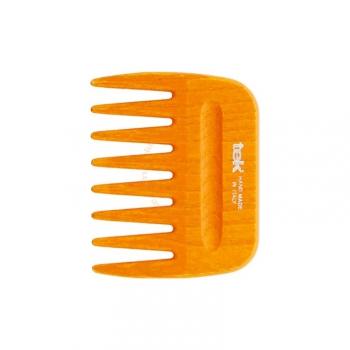 Peigne Afro à Dents Larges - Orange