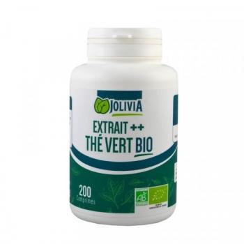 Extrait ++ Thé Vert Bio - 200 comprimés de 400 mg