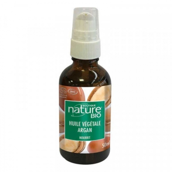 Huile végétale d'Argan Bio - 50 ml