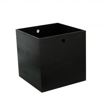 Caisse bois - noire