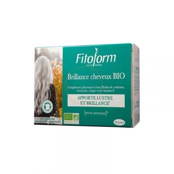 Brillance Cheveux Bio - Apporte lustre et brillance - 30 capsules