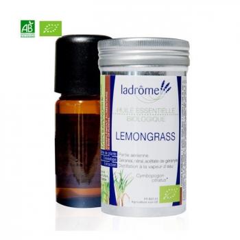 LADRÔME - Huile essentielle Lemongrass bio 10ml