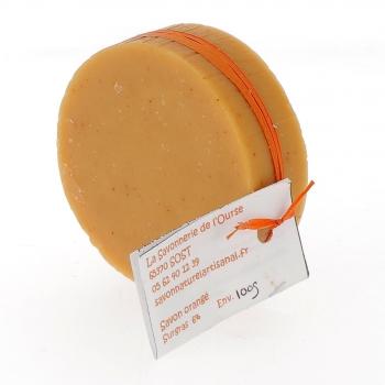 Savon Orangé, à la graisse de canard, 100 g