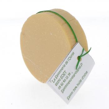 Savon 70% Huile Olive bio, peau très sensible, 100 g