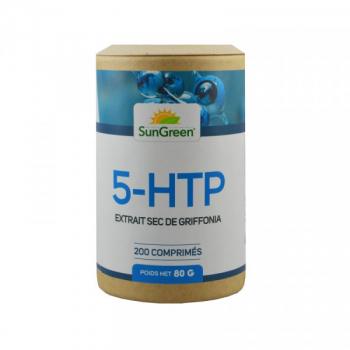 5-HTP (extrait sec de griffonia) - 200 comprimés