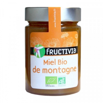 Miel Bio de montagne - 450 g