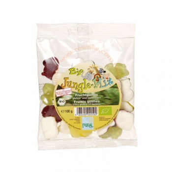 Bonbons Fruités Mix-Jungle Bio sans Gluten - 100 g