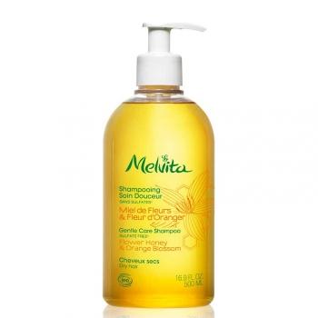 Shampooing Soin Douceur Miel de Fleurs et Fleur d'Oranger Bio - 500ml