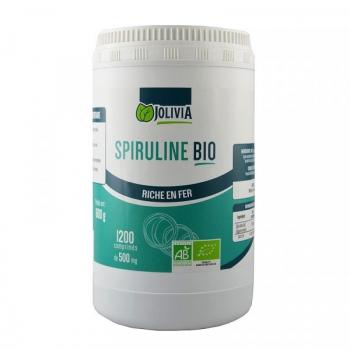 Spiruline Bio - 1200 comprimés de 500 mg