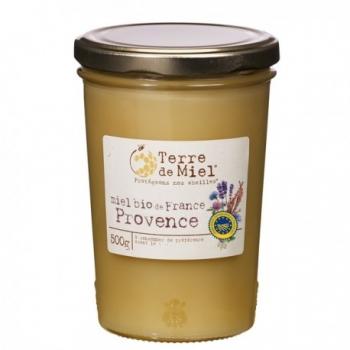 TERRE DE MIEL - Miel Bio de France Provence 500g-Terre de Miel