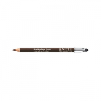 SANTE NATURKOSMETIK - Crayon à paupières Kajal n°06 Marron 1,3g
