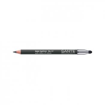SANTE NATURKOSMETIK - Crayon à paupières Kajal n°07 Anthracite 1,3g