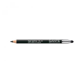 Crayon à paupières kajal N°8 Noir profond  Santé Naturkosmetics