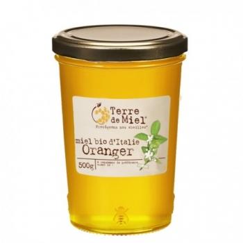 Miel Bio d'Italie Oranger 500g-Terre de Miel