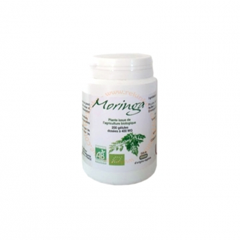 Moringa Bio - 200 gélules de 400 mg
