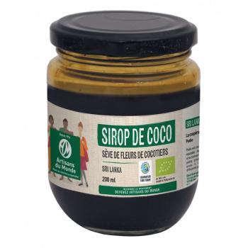 Sirop de coco Bio - 200 ml