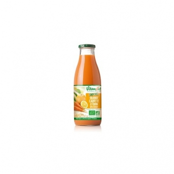 Cocktail Orange Carotte Citron Bio 0.75L-Vitamont