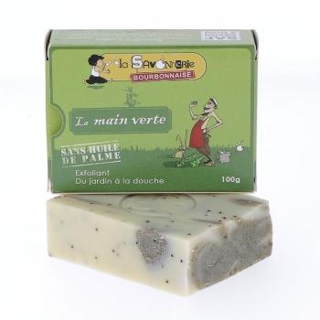 "Savon ""La Main Verte"" très exfoliant, 100 g"