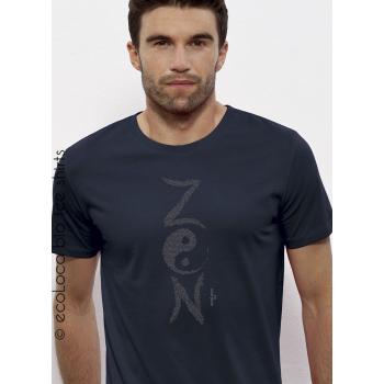 T shirt bio yoga ZEN yin yang méditation France artisan