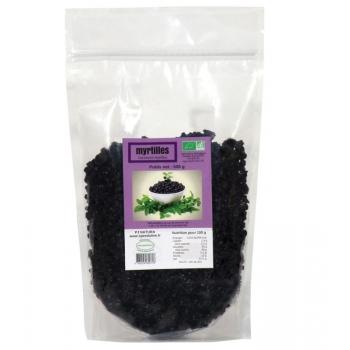 Myrtilles sauvages séchées Bio - sachet 500g,
